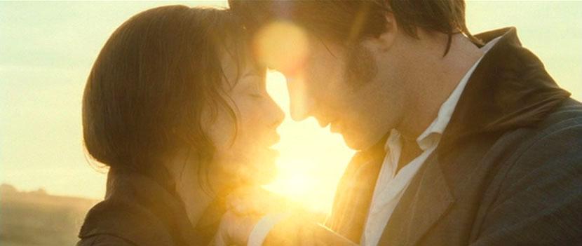 Elizabeth Bennet et Fitzwilliam Darcy, demande en mariage, Orgueil et préjugés, 2005