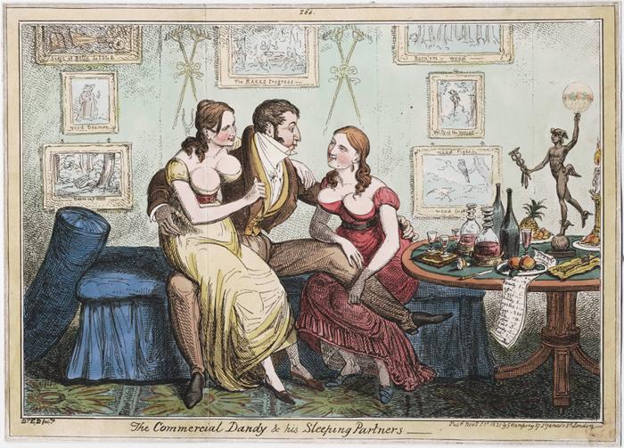 Un dandy et ses partenaires sexuelles