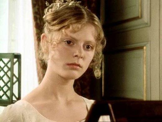 Georgiana Darcy dans la série télé de la BBC, Orgueil et préjugés