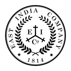 Logo de la compagnie des indes orientales