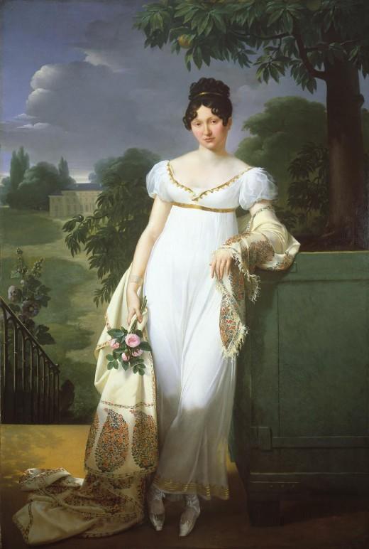 Portrait de Constance de Durfort en 1808, par Merry-Joseph Blondel