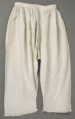Culotte courte de l'époque victorienne