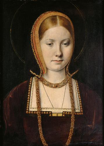 Portrait d'une princesse inconnue, probablement celui de Catherine d'Aragon