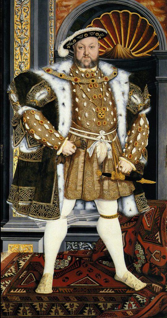 Portrait de Henry VIII vers 1540