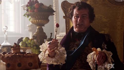 Prince George, au pouvoir pendant l'époque de la Régence, dans la série Taboo
