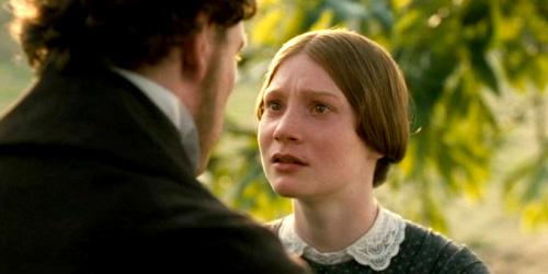 Demande en mariage de Jane Eyre par Rochester (scène du film avec Mia Wasikowska et Michael Fassbender)