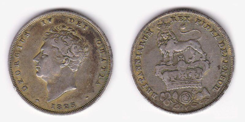 Shilling, dans la monnaie anglaise du XIXème siècle et de la Régence