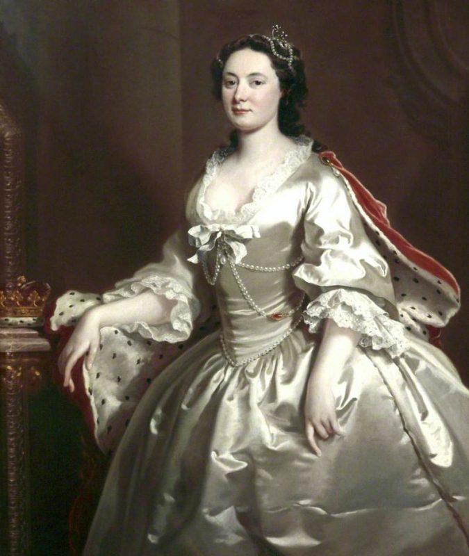 Anne Wells était une femme du peuple. Vendue sur le marché par son mari, elle a été achetée par le duc de Chandos qui, plus tard, l'a épousée et a fait d'elle une duchesse.