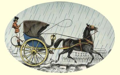 Voiture à cheval : exemple de cabriolet