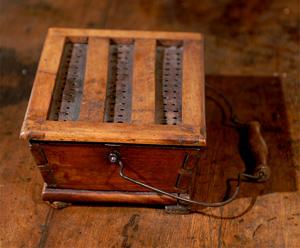Chauffe-pieds du XIXème siècle