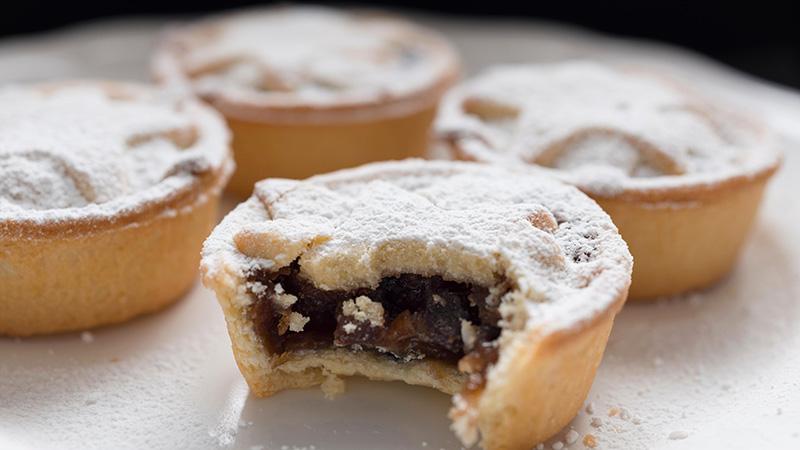 Les mince meat pies sont des tartelettes traditionnelles de Noël au Royaume Uni.