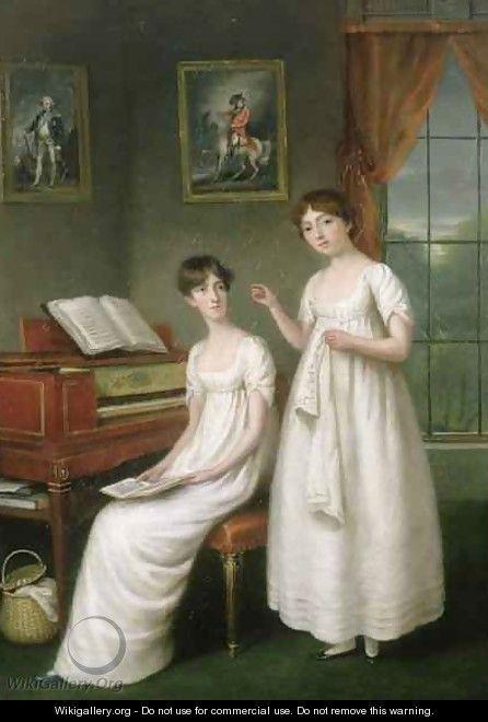 Portrait des soeurs Irwin, par Robert Home (vers 1800)
